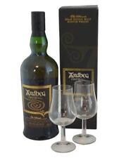 Ardbeg Corryvreckan Single Malt Whisky mit 2 Nosing- Gläsern