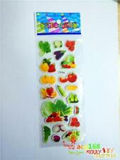Alive Fruit & Vegetable Stickers Doll Craft Xmas Lifelike 1pc Kid Party Toy Gift