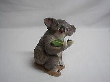 "Boehm KOALA BEAR Porcelain Figurine With Bamboo Gray 5 1/4""  #20099 England"
