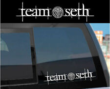 """Team Seth"" Sticker Decal for Twilight Wolf Pack & Jacob w/ tattoo design too!"