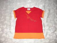 NICE Girls HANNA ANDERSSON Red/Orange Shirt/Top 110 5-6