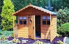 Garden Wooden Playhouse 6' x 4' + 1'6'' 1790mm x 1190mm T&G 'Cubby'