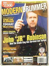 MODERN DRUMMER MAGAZINE JOHN JR ROBINSON BON JOVI MILEY CYRUS FOGHAT VERY RARE!!