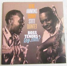 GENE AMMONS SONNY STITT QUINTET   CD  BOSS TENORS + DIG HUN !