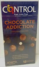 CONTRÔLE CHOCOLAT ADDICTION 12 PRÉSERVATIFS