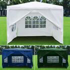 3x3M Heavy Duty Gazebo Marquee Canopy Waterproof Garden Patio Party Tent 2 Style