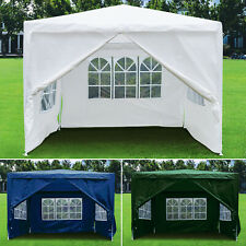 More details for 3x3m heavy duty gazebo marquee canopy waterproof garden patio party tent 2 style