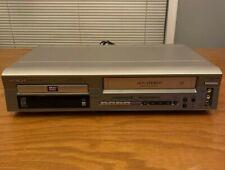 New listing Hitachi Dv-Pf2U Dvd/Vcr Combo Player 4 Head Hi-Fi Stereo No Remote Tested