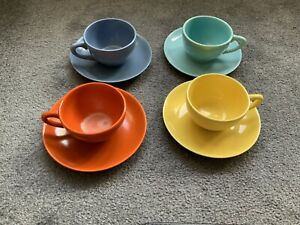 Catalina Rancho Set Of 4 Cups and Saucers