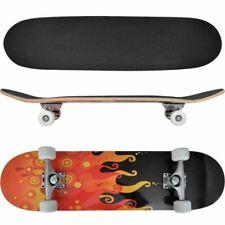 """vidaXL 90557 8"""" Oval Fire Maple Ply Skateboard"""