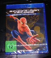 Spider-Man 1-3 Trilogie Origines Collection Avec Tobey Maguire blu ray Neuf &