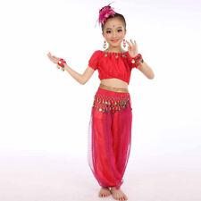 Handmade Children Girl Belly Dance Costumes Kids Belly Dancing Egypt Dance Cloth