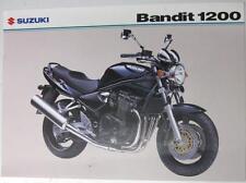 SUZUKI BANDIT 1200 Motorcycle Sales Sheet Mar 2004 #MB04GSF1200-LEAF