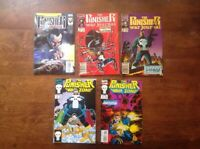 The Punisher War Journal / Zone Lot Of 5 VF/NM