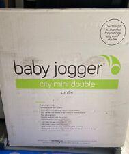 Baby Jogger City Mini Double Black/Gray Standard Double Seat Stroller
