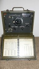 SIGNAL CORPS FREQUENCY METER, MODEL BC-221-AE, COLLECTIBLE, VINTAGE, ANTIQUE
