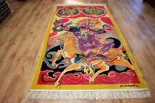 Designer Orientteppich Seidenteppich China 100% Seide Signiert 232 x 122 NEU