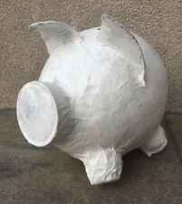 Sparschwein Geldgeschenk Rohling zur Selbstgestaltung Hochzeit Geburtstag BOX