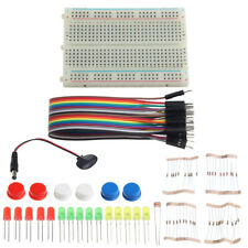 Electronic Starter Kit Mini Breadboard LED Jumper Wire Tested for Arduino UNO R3