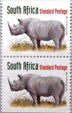 RSA SÜDAFRIKA SOUTH AFRICA 1998 1115 D einheimische Tiere Nashorn Animals MNH