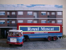 1/43 IXO ALTAYA CAMION TRAILER TRUCK WILLEME LD610 ROYAL MUSCAT