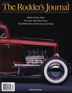No. 41 B Newsstand Cover 1932 Ford Coupe RODDERS JOURNAL