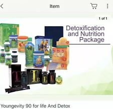 Youngevity Detox and 90 for life Mega Pak