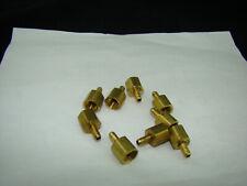"""Parker Brass Adapter 1/4', 1/8"""". mfg# 26-4-2. LOT OF 10"""