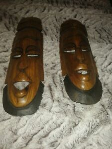 African Style Wall masks