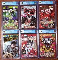 💥David Nakayama Complete Cereal Variant Cover set. All 9.8s.💥