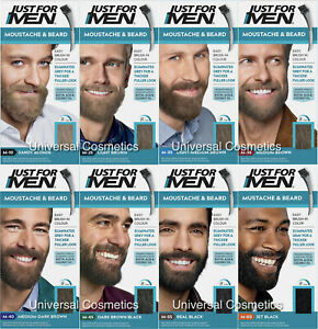 3 Pack Just For Men Colour Dye Gel Moustache and Beard- GENUINE/FREE DELIVERY