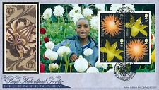 2004 Benham FDC BLCS 283 Royal Horticulture Society PSB One panel,with info card