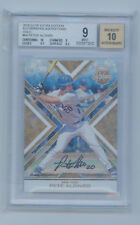 Pete Alonso 2016 Elite Extra Edition Gold Auto Rc 1/1  1 of 1 BGS 9 10 Peter