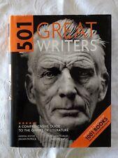 501 Great Writers by Julian Patrick | HC/DJ 1st Edn.
