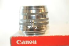 Canon RF 50mm f/1.8 rangefinder lens Leica screw mount L39 LTM for IVSB P 7s IIB