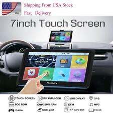 Car Gps Navigation 7-inch Touch Screen Built-in 8Bg and 128Mb Gps Navigator B3Y8