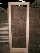 """New Unused Clear Glazed Pattern 10 Hemlock Internal Doors 33"""" x 78"""" ( Shaker )"""