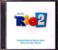 Rio 2 John Powell OST COLONNA SONORA SCORE CD Uakti, barbatuques, Milton noscimento