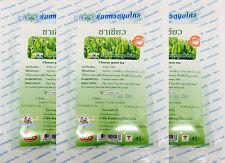 Chinese Green Tea 100% Natural Camellia Sinensis Thanyaporn Herb 60 Tea Bags