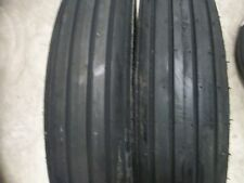 Two 670 15 670x15 Rib Implement Discdo Allwagon 6 Ply Tube Type Tractor Tires