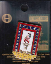 RARE PINS PIN'S .. OLYMPIQUE OLYMPIC JEUX ATLANTA 1996 CENTENNIAL 100 GAMES ~16