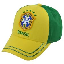 BRAZIL CAP WORLD CUP BRASIL HAT AUTHENTIC OFFICIAL NATIONAL TEAM ONE SIZE