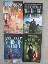 ANNE BISHOP LOT 4~Black Jewels~SHADOWS LIGHT~House Gaian~PILLARS WORLD~Invisible