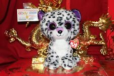"""Ty Beanie Boos Violet Leopard.Medium~9"""".Cl aire'S Exclusive.2017.Mwnmt.Nice Gift"""