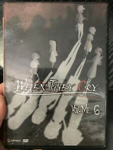 When They Cry Volume 6 region 1 DVD (anime)
