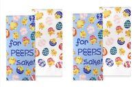 Celebrate Easter Together Kitchen Dish Towels FOR PEEPS SAKE 4-Piece Set NEW
