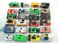 USA E GETTA FOTOCAMERA Single use Camera collection raccolta 30 PIECES PEZZI TOP/18