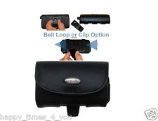 Canon IXUS 510 HS Leather Belt Case
