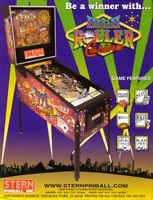 High Roller Casino Pinball Machine FLYER Original NOS Stern Promo Artwork 2001
