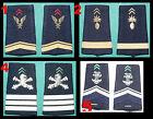 F 1 (Un) x Paire de pattes d'épaule avec grade Armée française